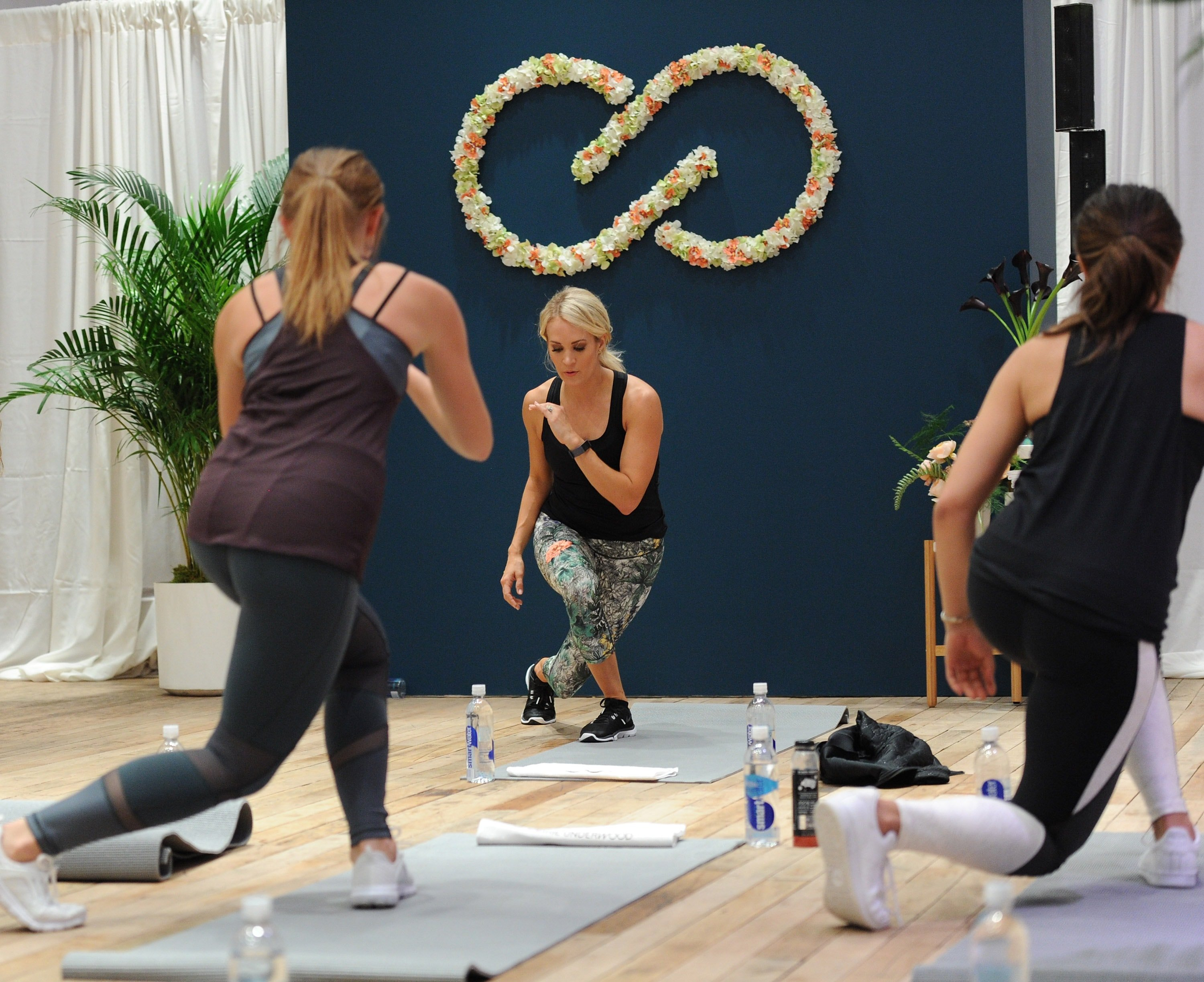 Carrie Underwood Hosts An Event For Her Athletic Apparel