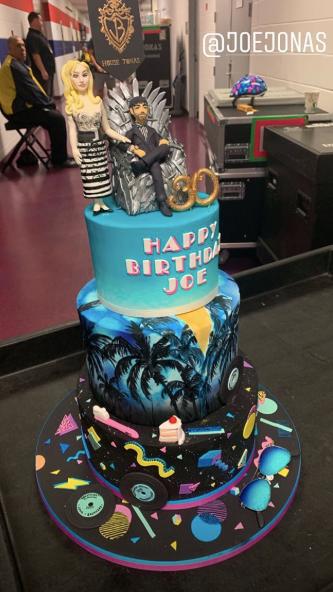Superb Joe Jonas 30Th Birthday Cake Kiss 95 1 Funny Birthday Cards Online Overcheapnameinfo