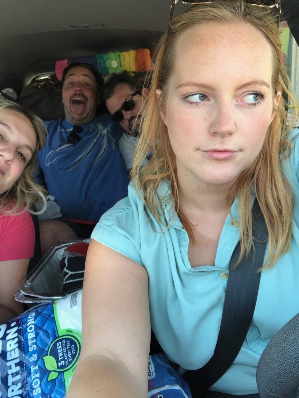 cameron driving
