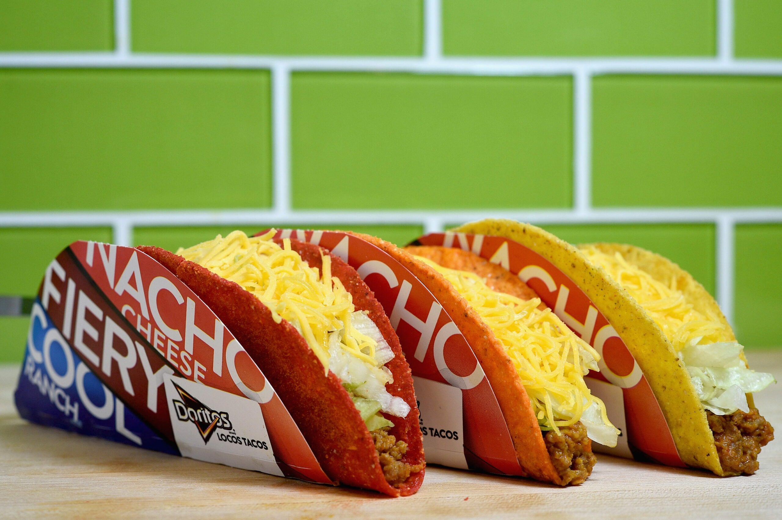 taco bell flamin hot doritos locos tacos
