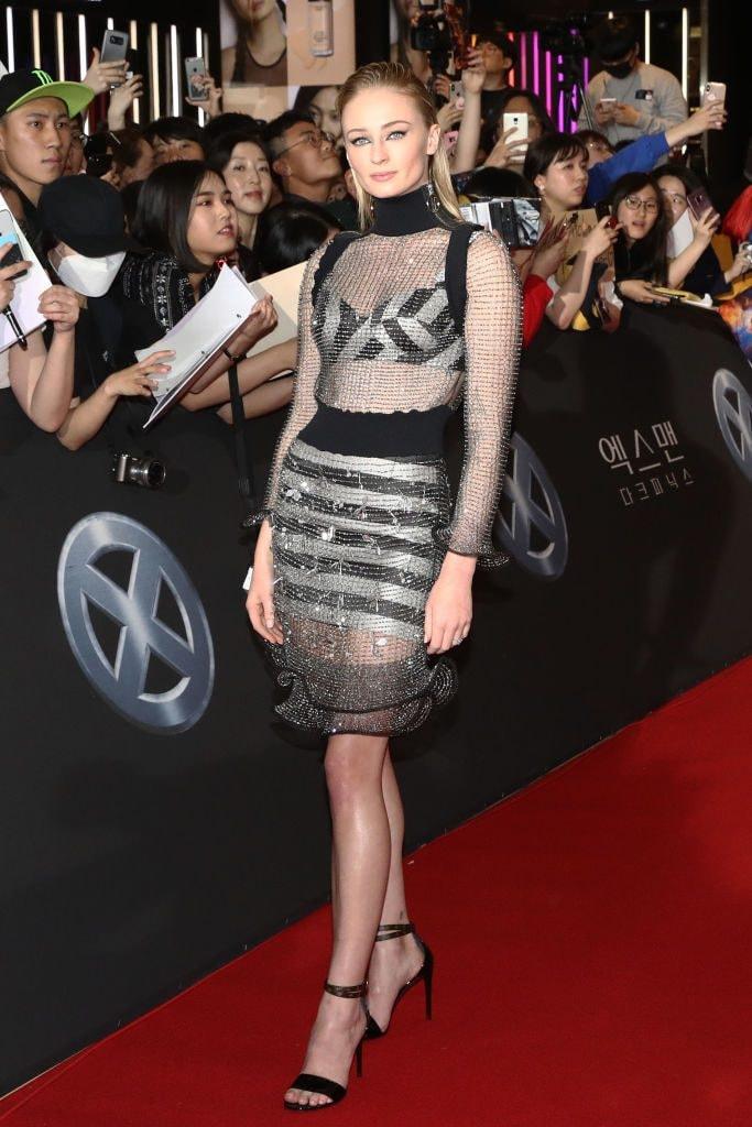 Sophie Turner promotes X-Men: Dark Phoenix